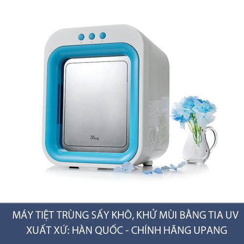 Máy tiệt trùng sấy khô, khử mùi tia UV Upang Hàn Quốc màu Xanh