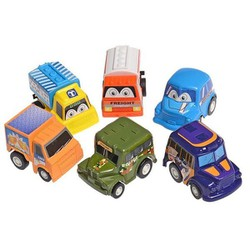 Bộ 6 ô tô trẻ em