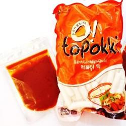 Combo 1kg bánh gạo truyền thống kèm 100g nước sốt Hàn Quốc