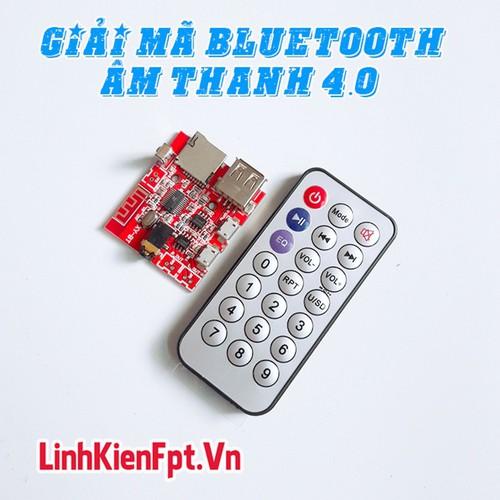 Linh kiện điện tử Bộ Thu Bluetooth , Mạch Giải Mã Âm Thanh Bluetooth 4.0 - Kèm Remote - 11114246 , 16199241 , 15_16199241 , 145000 , Linh-kien-dien-tu-Bo-Thu-Bluetooth-Mach-Giai-Ma-Am-Thanh-Bluetooth-4.0-Kem-Remote-15_16199241 , sendo.vn , Linh kiện điện tử Bộ Thu Bluetooth , Mạch Giải Mã Âm Thanh Bluetooth 4.0 - Kèm Remote