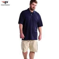 Áo thun nam cổ bẻ BIG SIZE chất mát cao cấp PigofashionPB01 - 1 - 6 màu chọn