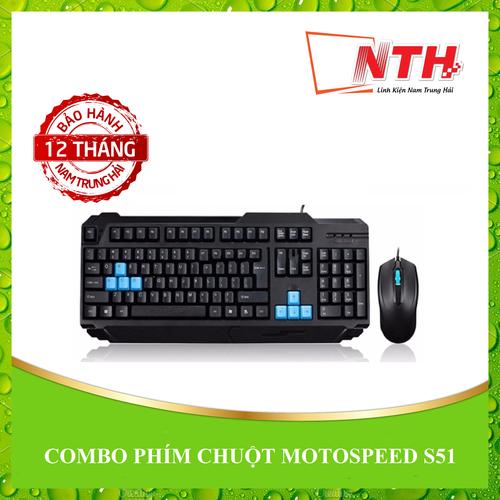 COMBO PHÍM CHUỘT MOTOSPEED S51