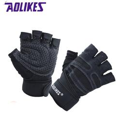 Găng tay thể thao cao cấp có quấn cổ tay AOLIKES