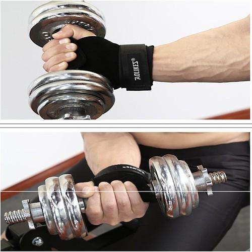 Găng tay tập Gym cao cấp đệm lòng bàn tay - AOLIKES cao cấp