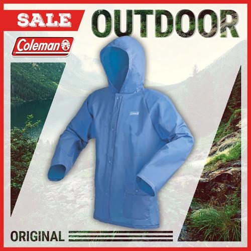 Áo đi mưa Coleman PVC - 2000014348 - X, M - Xanh dương