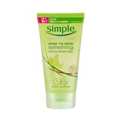 Gel rửa mặt Simple Refreshing Facial Wash