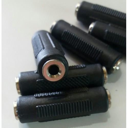 Đầu nối dây âm thanh 2 đầu 3.5mm_3 điiểm cực 25k 1 cái