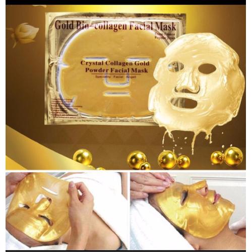 Combo 10 Mặt Nạ Đắp Mặt Collagen Vàng 24k