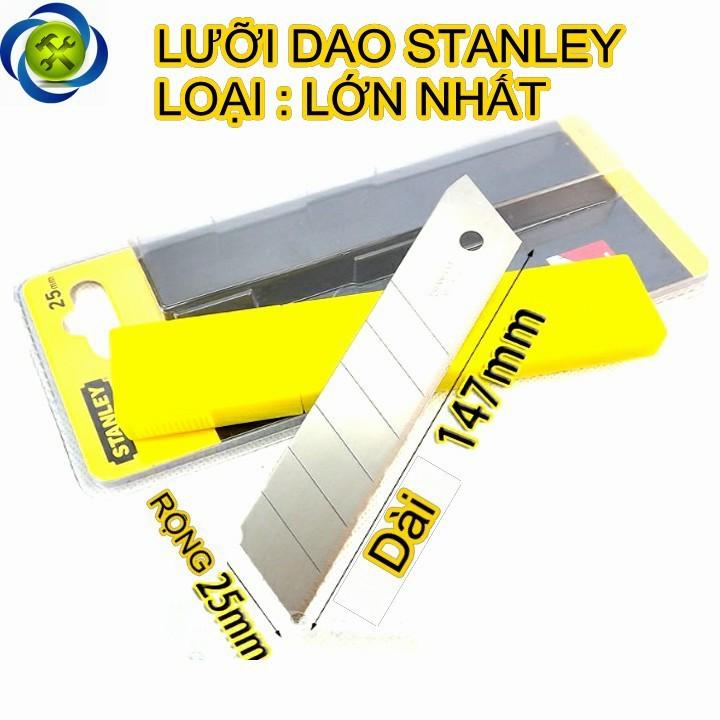 Lưỡi dao rọc cáp thẳng STANLEY 11-325 bề rộng 25mm 1