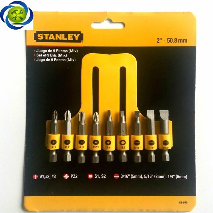 Mũi vặn vít 9 chi tiết Stanley 68-070 2