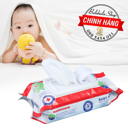 Combo 10 Khăn giấy ướt Baby Wipes 80gr