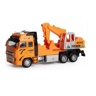 Mô hình xe tải kết hợp xe cẩu xúc tỉ lệ 1 48 - XETAIVAXECAUXUC thumbnail
