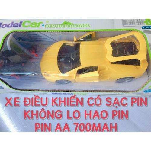 XE ĐIỀU KHIỂN SẠC PIN MODEL CAR