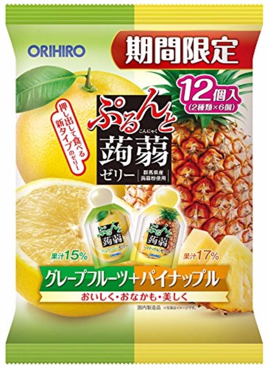Thạch trái cây vị dứa - 4571157255668