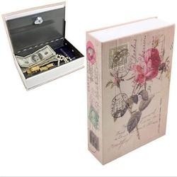 Két sắt mini hình quyển sách 01