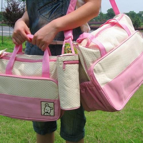 Set túi 5 chi tiết cho mẹ và bé - 5315260 , 11654868 , 15_11654868 , 255000 , Set-tui-5-chi-tiet-cho-me-va-be-15_11654868 , sendo.vn , Set túi 5 chi tiết cho mẹ và bé