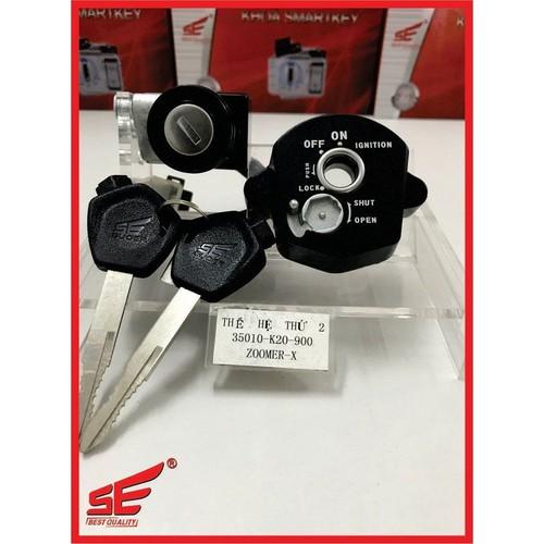 Ổ khóa xe ZOOMER-X2 CẠNH thương hiệu SE