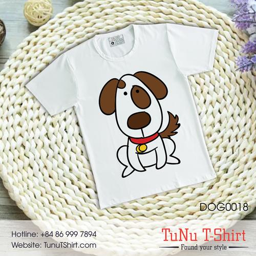 Áo thun hình chó siêu dễ dương - 5319465 , 11661355 , 15_11661355 , 139000 , Ao-thun-hinh-cho-sieu-de-duong-15_11661355 , sendo.vn , Áo thun hình chó siêu dễ dương