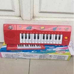 Đàn organ có pin có nhạc cho bé