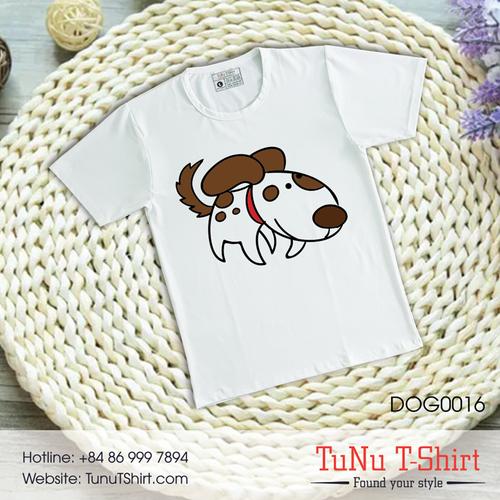 Áo thun hình chó siêu dễ dương - 5319449 , 11661297 , 15_11661297 , 139000 , Ao-thun-hinh-cho-sieu-de-duong-15_11661297 , sendo.vn , Áo thun hình chó siêu dễ dương
