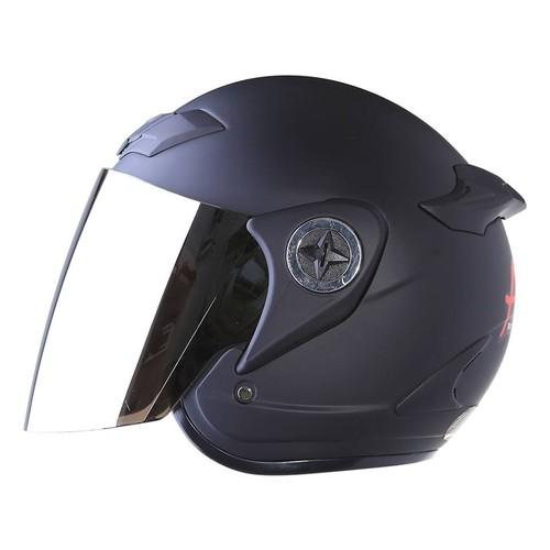 Mũ bảo hiểm Asia m168 kính gương - Bảo hành 12 tháng