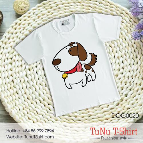 Áo thun hình chó siêu dễ dương - 5319475 , 11661377 , 15_11661377 , 139000 , Ao-thun-hinh-cho-sieu-de-duong-15_11661377 , sendo.vn , Áo thun hình chó siêu dễ dương