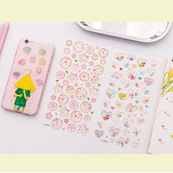 Sticker dán ốp lựng điện thoại, ly uống nước, trang trí tập vở
