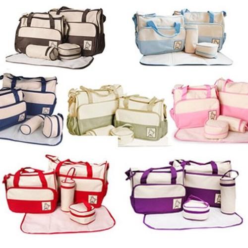 Set túi 5 chi tiết cho mẹ và bé - 7110050 , 13837808 , 15_13837808 , 299000 , Set-tui-5-chi-tiet-cho-me-va-be-15_13837808 , sendo.vn , Set túi 5 chi tiết cho mẹ và bé