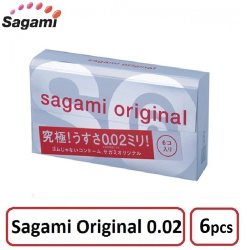 Bao Cao Su Sagami Original 0.02 Hộp 6 Bao - Siêu mỏng