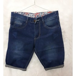 Quần shorts jeans thời trang cào xước vãi dầy đẹp size 28 đến 34CVBF