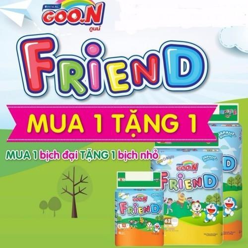 Tả Quần Goon Friend  S62-M58-L48-XL42-XXL34 Tặng thêm bịch nhỏ 5 miếng - 5320758 , 11662457 , 15_11662457 , 227000 , Ta-Quan-Goon-Friend-S62-M58-L48-XL42-XXL34-Tang-them-bich-nho-5-mieng-15_11662457 , sendo.vn , Tả Quần Goon Friend  S62-M58-L48-XL42-XXL34 Tặng thêm bịch nhỏ 5 miếng
