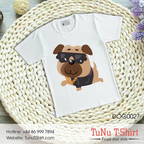 Áo thun hình chó PUG siêu dễ dương - 5320421 , 11662146 , 15_11662146 , 139000 , Ao-thun-hinh-cho-PUG-sieu-de-duong-15_11662146 , sendo.vn , Áo thun hình chó PUG siêu dễ dương