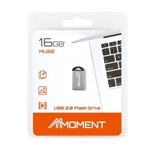 USB 16GB siêu nhỏ - chống nước tốt Moment MU22  - Hãng Phân Phối Chính Thức