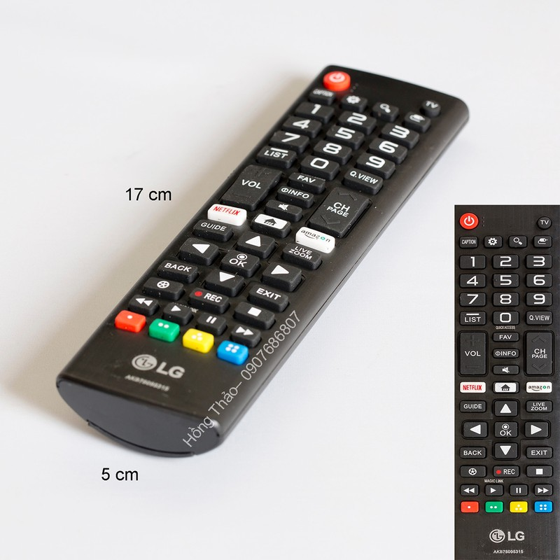 Remote Tivi LG AKB75095315 – Rem086