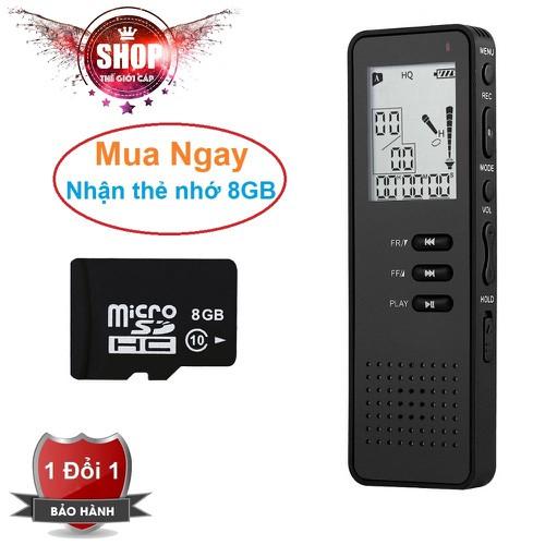 Máy ghi âm Chuyên dụng cao cấp T30 Tặng kèm thẻ nhớ SDHC 8GB - 5324061 , 11666503 , 15_11666503 , 1599000 , May-ghi-am-Chuyen-dung-cao-cap-T30-Tang-kem-the-nho-SDHC-8GB-15_11666503 , sendo.vn , Máy ghi âm Chuyên dụng cao cấp T30 Tặng kèm thẻ nhớ SDHC 8GB