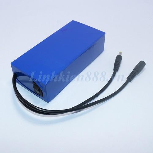 Ắc quy Lithium 12V 10Ah có công tắc nguồn và sạc
