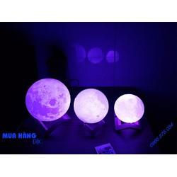 Đèn Mặt Trăng 3D Moon Lamp16 màu 15cm