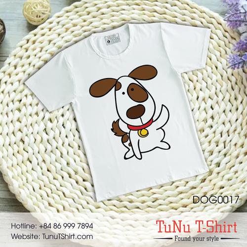 Áo thun hình chó siêu dễ dương - 5319460 , 11661332 , 15_11661332 , 139000 , Ao-thun-hinh-cho-sieu-de-duong-15_11661332 , sendo.vn , Áo thun hình chó siêu dễ dương