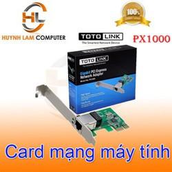 Card mạng máy tính Totolink PX1000 chính hãng Digiworld-Elite-Anh Ngọc phân phối