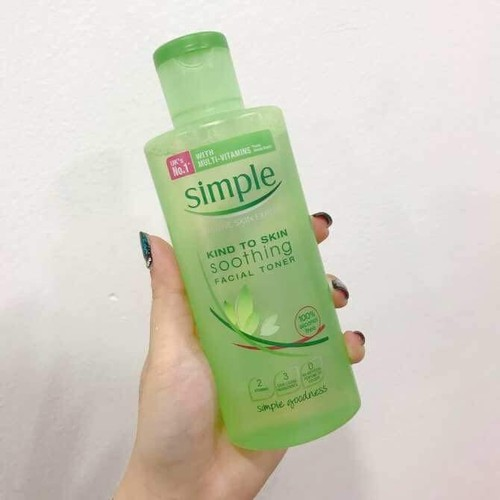 Nước hoa hồng Simple Kind To Skin Soothing Facial Toner - 5340238 , 11686385 , 15_11686385 , 135000 , Nuoc-hoa-hong-Simple-Kind-To-Skin-Soothing-Facial-Toner-15_11686385 , sendo.vn , Nước hoa hồng Simple Kind To Skin Soothing Facial Toner