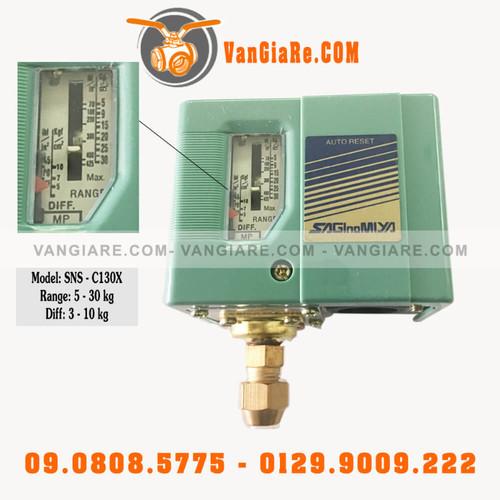 Rơ le áp lực SNS CX130