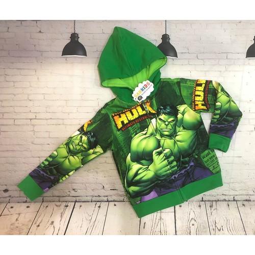 Áo khoác người xanh Hulk 3D