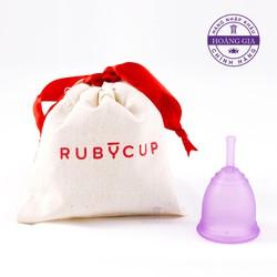 Cốc nguyệt san Ruby Cup, Anh quốc, màu Tím Size S