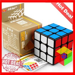 Rubik 3x3 GuanLong Viền đen