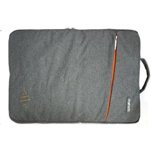 Túi chống sốc FoPaTi màu xám đậm mịn cho laptop 14 inch