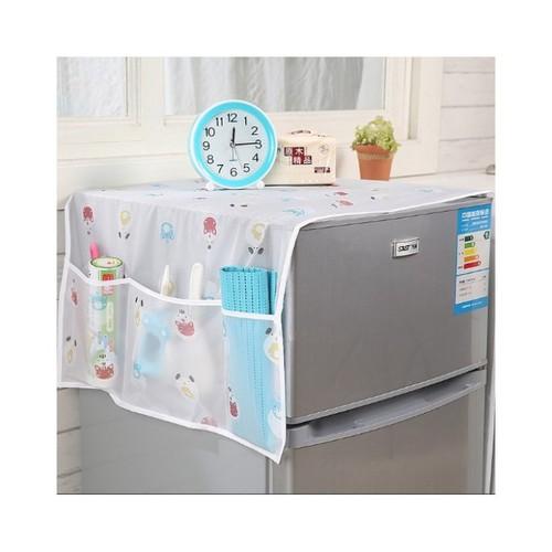 Tấm phủ tủ lạnh che tủ lạnh chống bẩn sạch đẹp