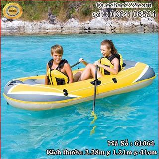 Thuyền Bơm Hơi 2 người Màu Vàng 2.28m x 1.21m x 41cm - Bestway 61064 - 61064kh3 thumbnail