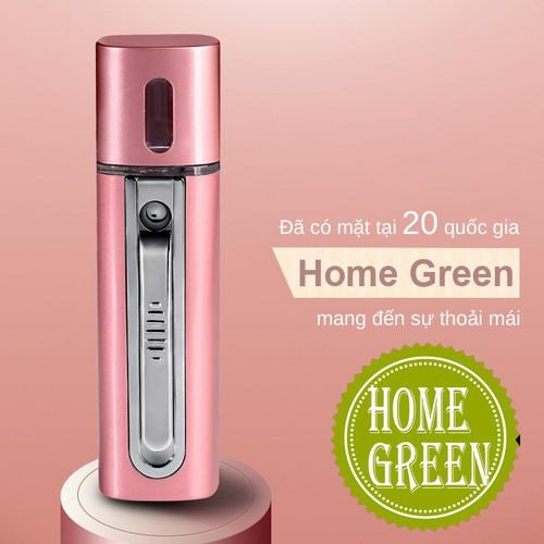 May phun ion da mặt homegreen HG10 JAPAN