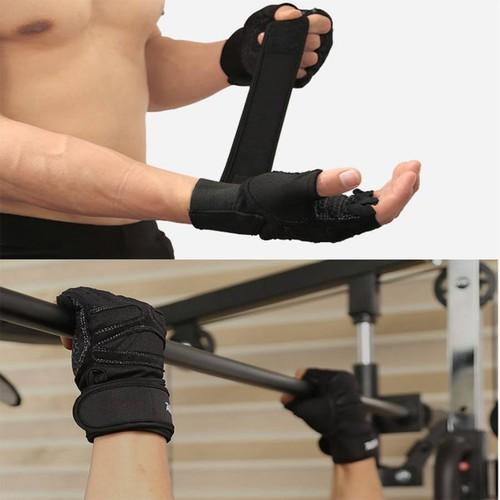 Găng tay tập gym cao cấp có quấn cổ tay AOLIKES cao cấp - 5837708 , 12336024 , 15_12336024 , 239000 , Gang-tay-tap-gym-cao-cap-co-quan-co-tay-AOLIKES-cao-cap-15_12336024 , sendo.vn , Găng tay tập gym cao cấp có quấn cổ tay AOLIKES cao cấp