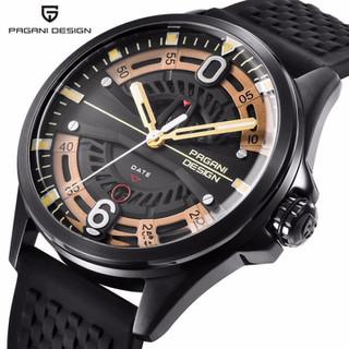 Đồng hồ nam 2 lịch dây silicon Pagani Design máy Japan- Mã số DH1849 - Đồng hồ nam DH1849 thumbnail